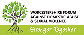 Worcestershire Forum against domestic abuse & sexual violence logo